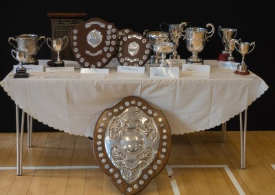 Holme Valley brass contest trophies June 2013